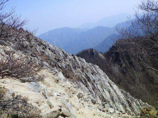 鎌ヶ岳 岩峰