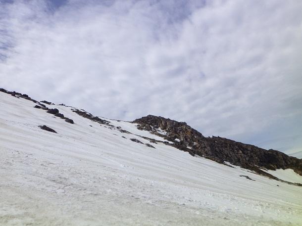 御嶽山 森林限界