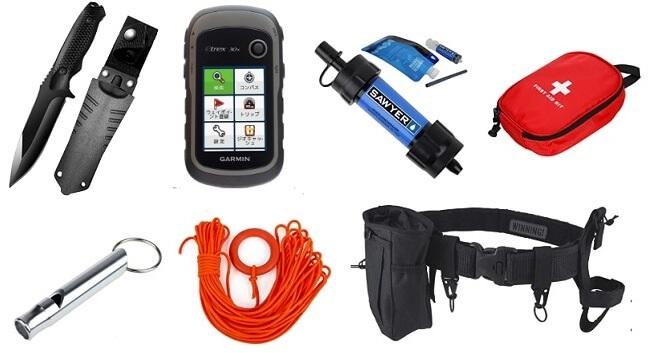 渓流釣りで必要な装備・アイテム