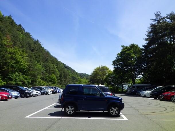 御在所岳 中道 駐車場