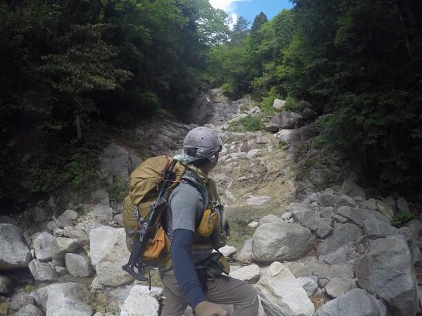 御在所岳 本谷 ナメ滝
