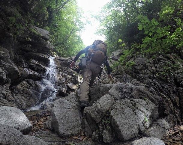 御在所岳 本谷ルートを登る