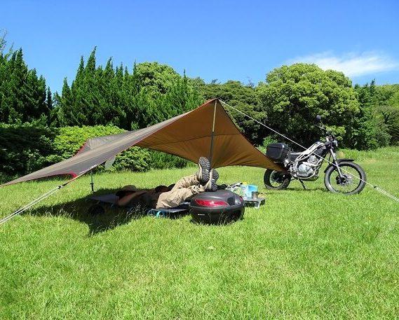 バイク デイキャンプ