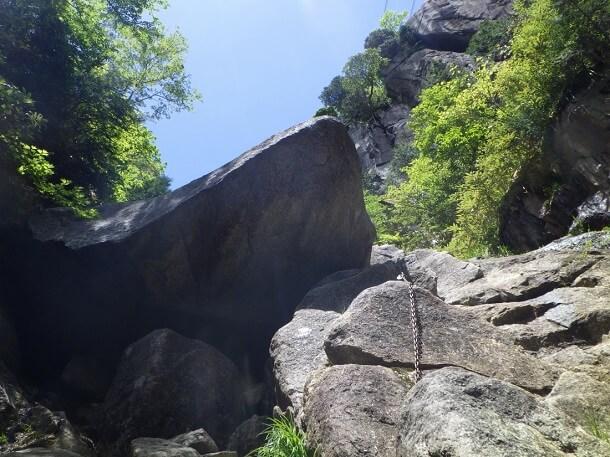 御在所 本谷 ジョーズ岩