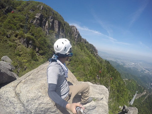 御在所岳 本谷ルート 大黒岩