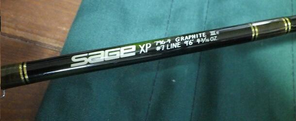 セージのフライロッド XP796-4 ブランク