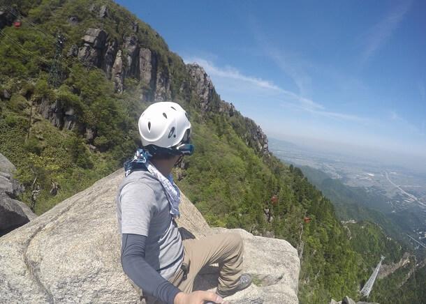 御在所 大黒岩からの眺望