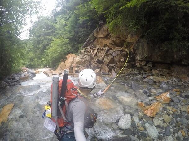 バランスライト40 沢登り 渓流釣り