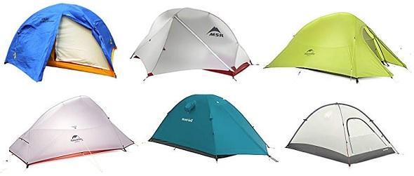 山岳用テント一覧