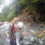 山岳渓流フライ釣行記 2018年7月 伊奈川ダム上流
