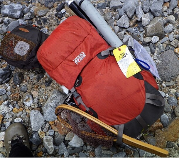 山岳渓流 釣り 装備