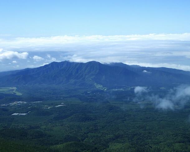 富士宮ルートからの眺望 越前岳