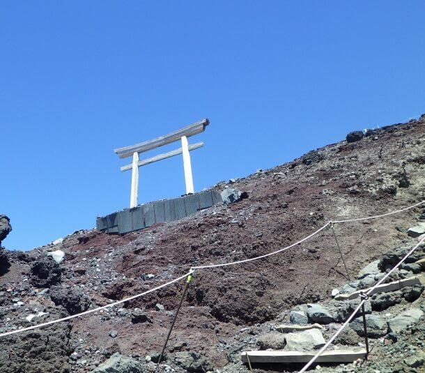 富士山 8合目 鳥居