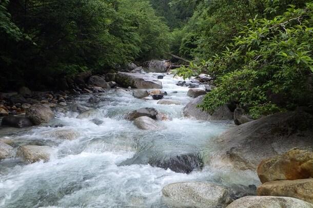 伊奈川 増水