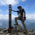 西穂高岳 日帰り登山|ロープウェイ駅から西穂山頂へ 2018年8月