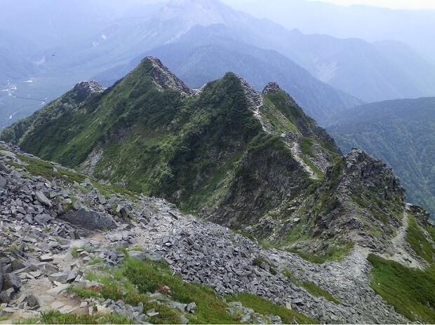 西穂高岳 チャンピオンピーク4峰