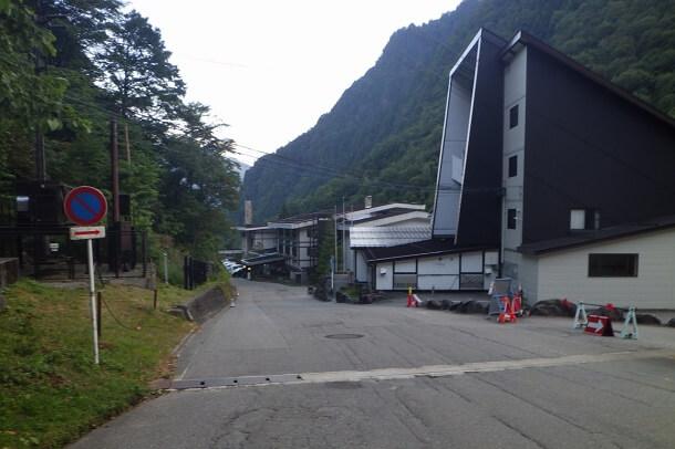槍ヶ岳から新穂高温泉へ下山