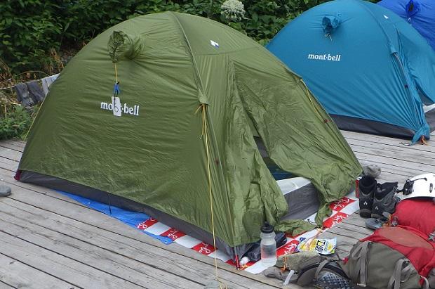 ステラリッジ2 テント