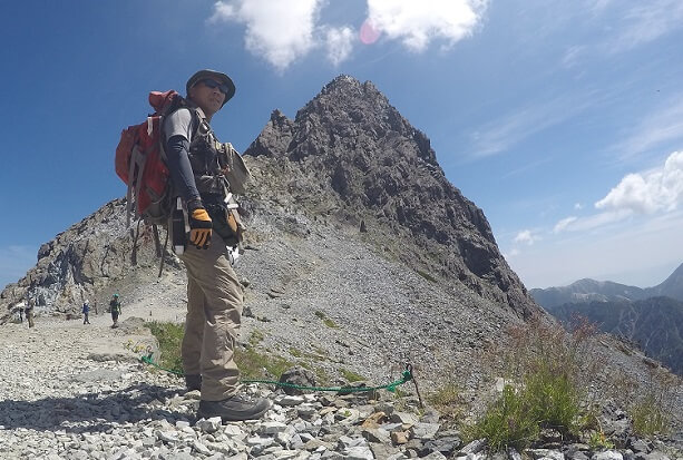 槍ヶ岳登山 2018