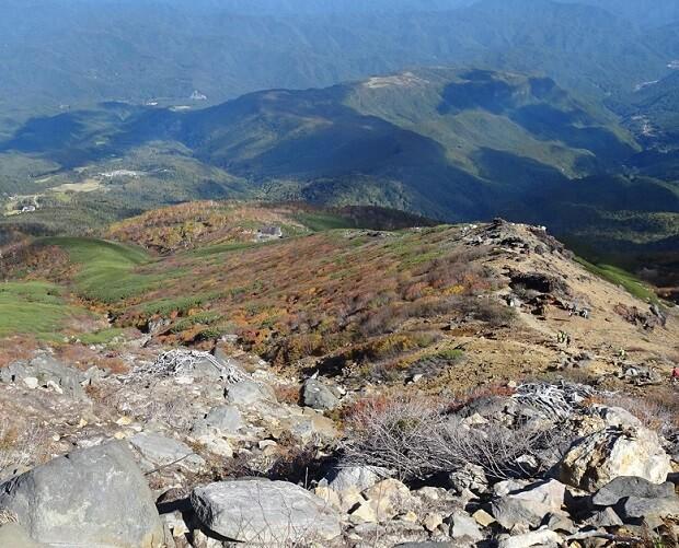 御嶽山 八合目 紅葉