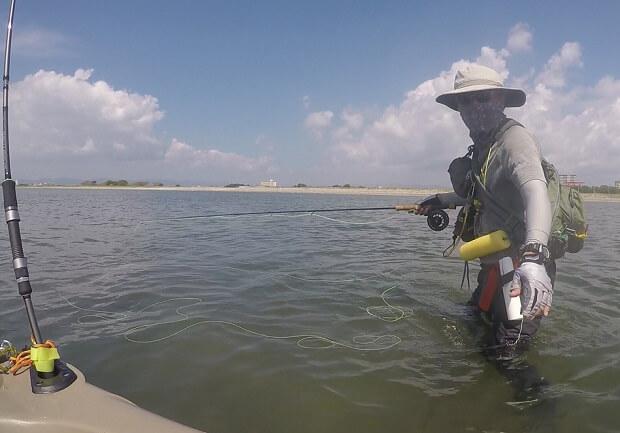 浜名湖 弁天島 ウェーディング 釣り