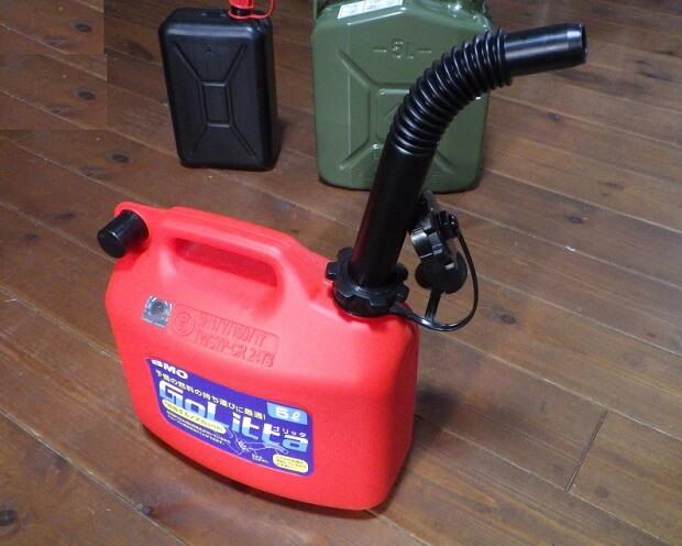 ガソリン携行缶5Lの特徴