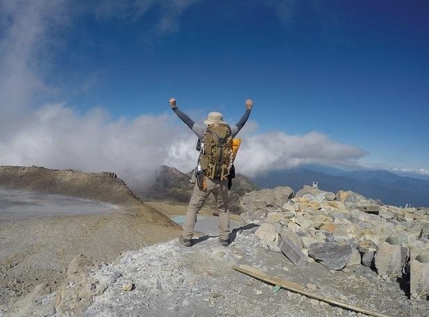 御嶽山 登山