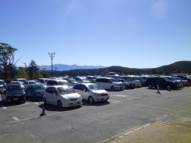 御岳ロープウェイ 無料駐車場