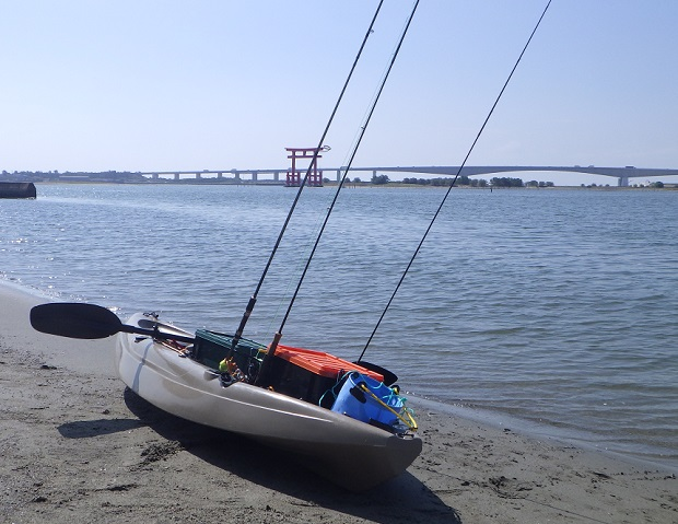 弁天島海浜公園 カヤック