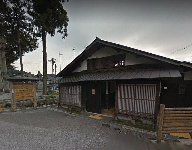 伊吹山 登山口 三之宮神社前の公衆トイレ