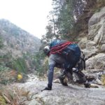 御在所岳 藤内沢-第三ルンゼの登り方|ルート、装備、注意点を紹介
