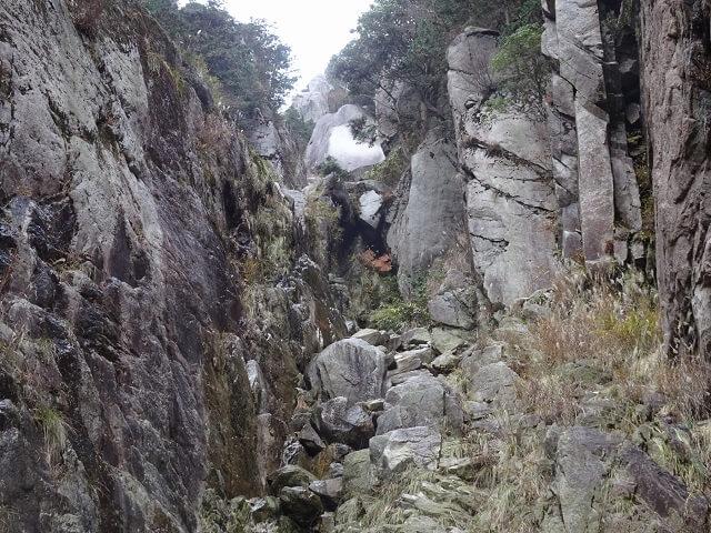 御在所岳 藤内滝 その2