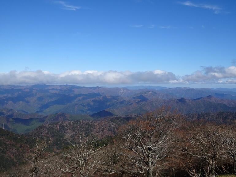 日出ヶ岳展望台 北アルプス・日本アルプス方面