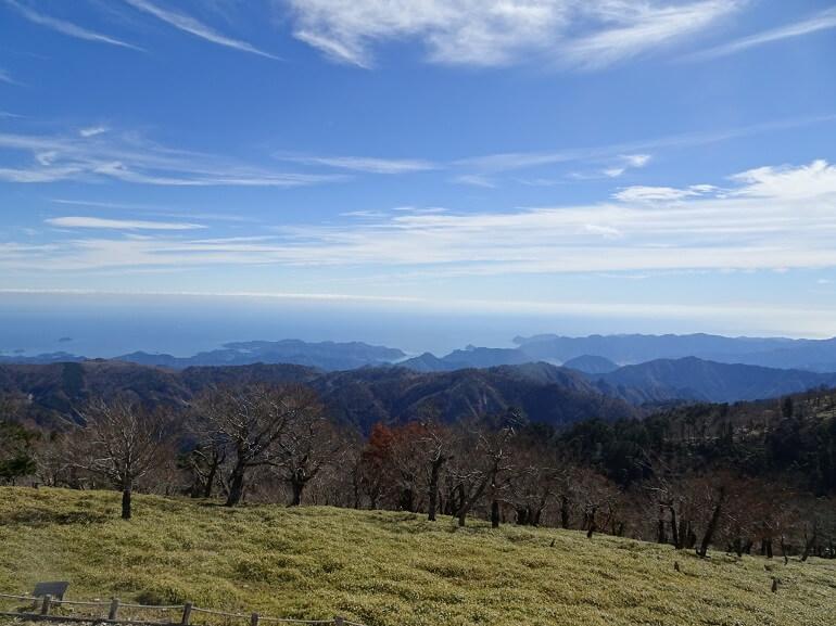 日出ヶ岳展望台 熊野灘