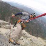 【懸垂下降講習】モンベルの山歩き講習会で懸垂下降を学んできました