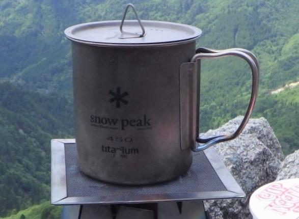 スノーピークのマグカップ