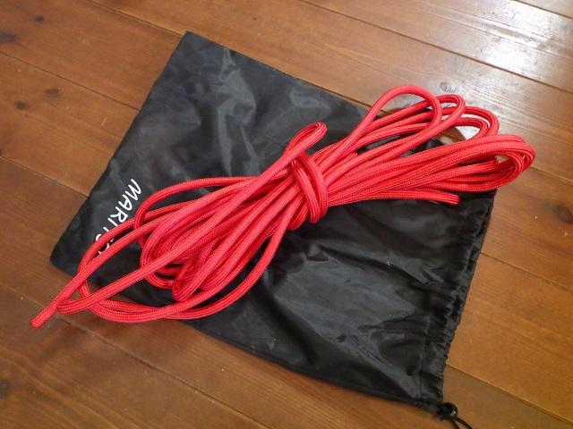 懸垂下降 練習用ロープ