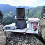 登山用バーナー&クッカーのミニマムセット紹介~カップラーメン作りに最適♪