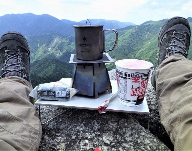 登山用バーナー&クッカー ミニマムセット