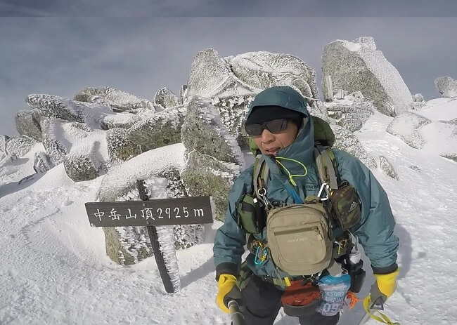 木曽駒 中岳