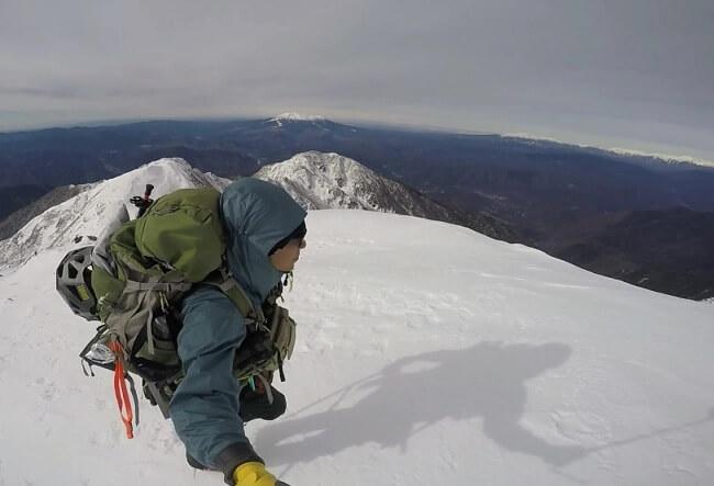 木曽駒ケ岳山頂からの眺め