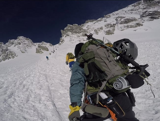 木曽駒ケ岳 登山 12月