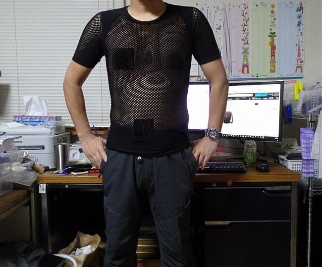 TS DRYシャツ サイズ感