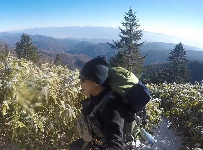 恵那山 標高1,800m地点