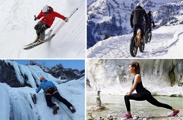 冬のスポーツに最適なドライレイヤー