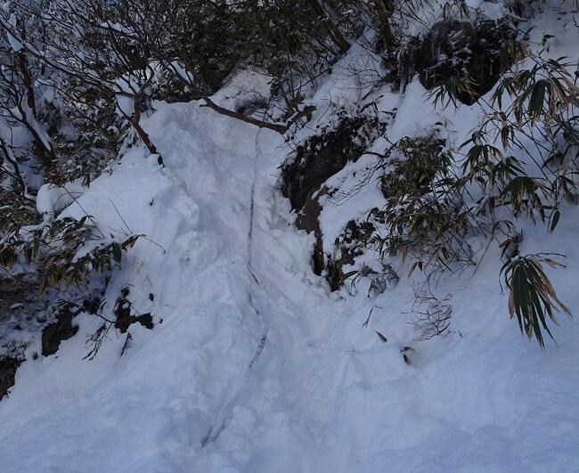 御在所岳 本谷 最後の急登