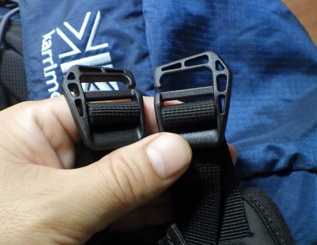 ミレーのヘルメットホルダーの使い方1