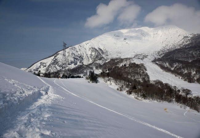 伊吹山登山 冬
