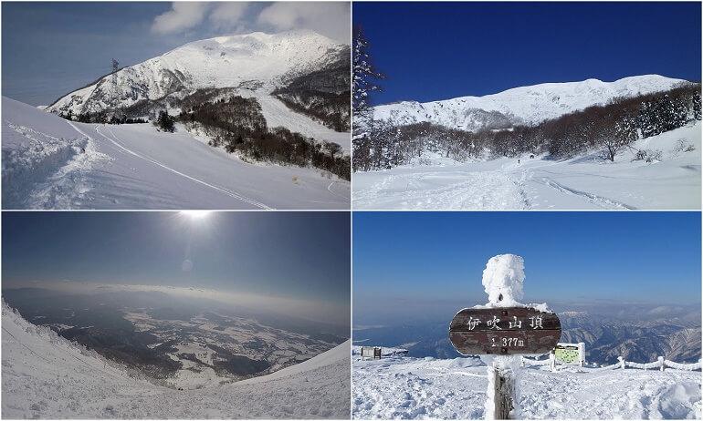 冬の伊吹山 登山ガイド