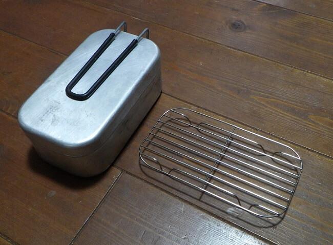 メスティンを蒸し器にするためのバット